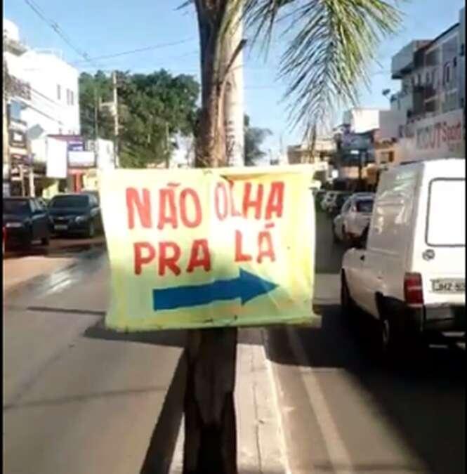 A prova de que o brasileiro já nasce formado em publicidade