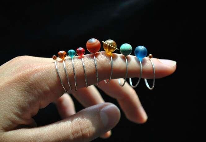 Estes anéis do sistema solar são o presente perfeito para amantes de astronomia