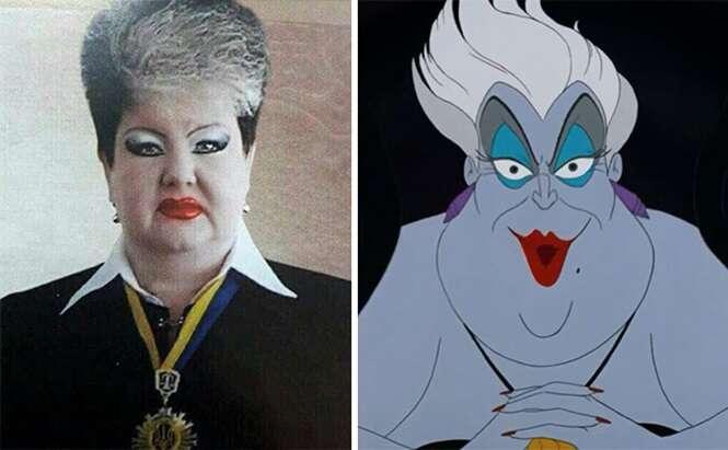Pessoas que se parecem com personagens da Disney