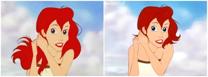 Imagens provando que o cabelo curto muda a aparência de uma princesa