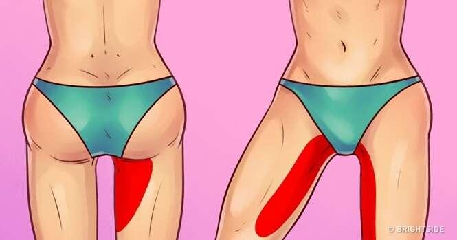 Exercícios fáceis para ter pernas esbeltas e um bumbum melhor