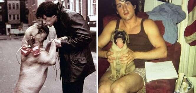 A bela homenagem que Sylvester Stallone fez para seu amado cachorro vai mexer com você