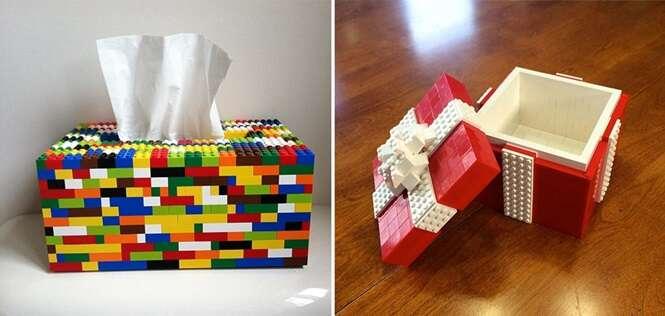 Coisas impressionantemente feitas com LEGO