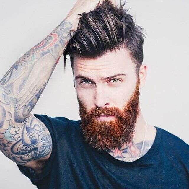 Provas de que a combinação barba e undercut é show