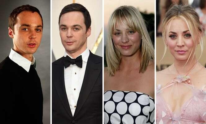 "O elenco de ""The Big Bang Theory"" antes e agora"