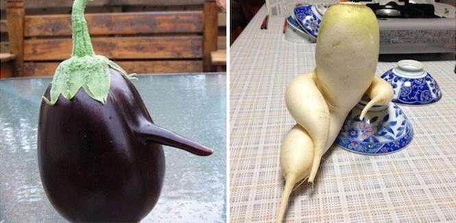 Vegetais que ficaram de saco cheio de ser vegetais