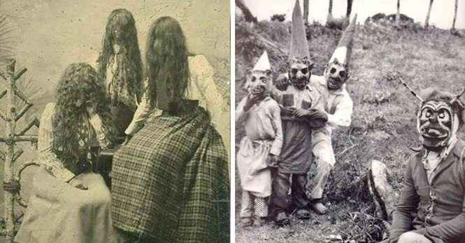 Fotos antigas que vão agarrar na sua mente e provocar os piores pesadelos