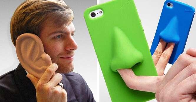 Capinhas para celular que pouca gente usaria