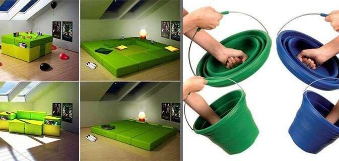 Invenções feitas com criatividade que qualquer um gostaria de ter em casa