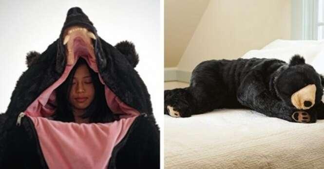 Este produto é ideal para aquele seu amigo que dorme como um urso