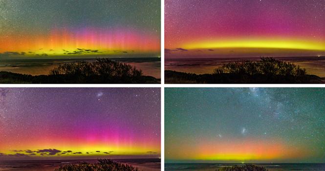 """Você já viu a Aurora Australis? Ela ilumina o céu australiano e é tão bonita quanto sua """"irmã"""""""