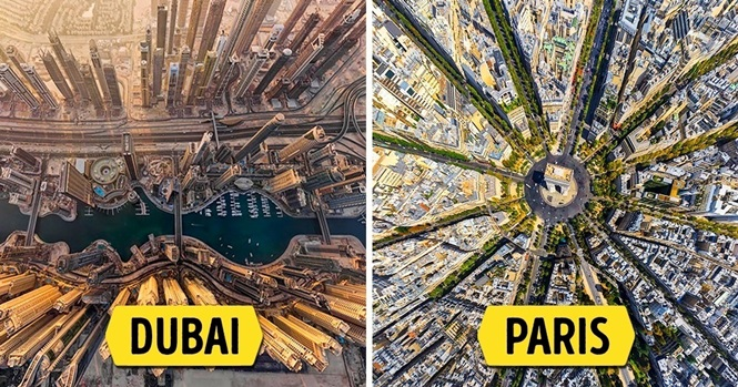 Deslumbrantes vistas aéreas ao redor do mundo