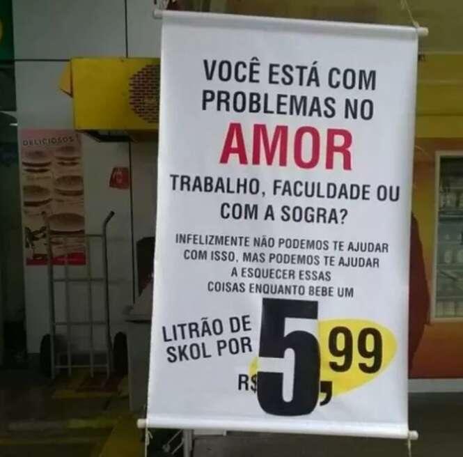 Imagens provando que o brasileiro já vem ao mundo com diploma de publicidade