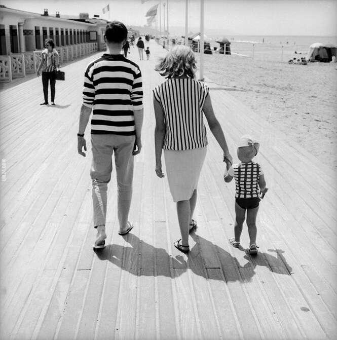 Fotos divertidas tiradas nas ruas da França dos anos 50