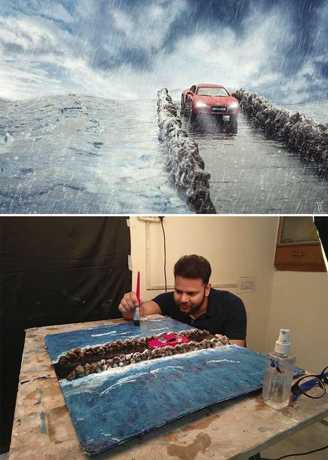 Dessa forma, é possível criar cenas épicas quase sem gastar dinheiro