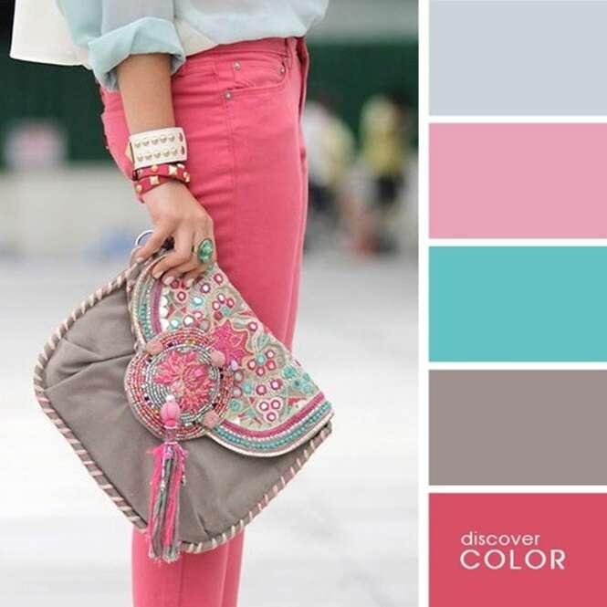 Combinações de cores para você se produzir