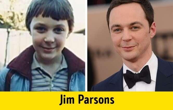 Como eram na infância alguns atores de famosos seriados