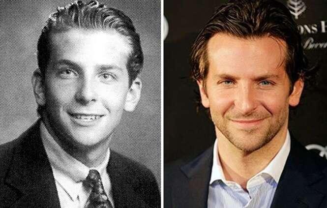 Fotos de celebridades nos tempos da escola que certamente vão te surpreender