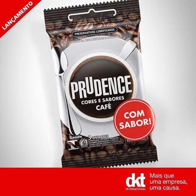Um preservativo com sabor de café foi lançado e internautas começaram a fazer piadinhas estilo quinta série