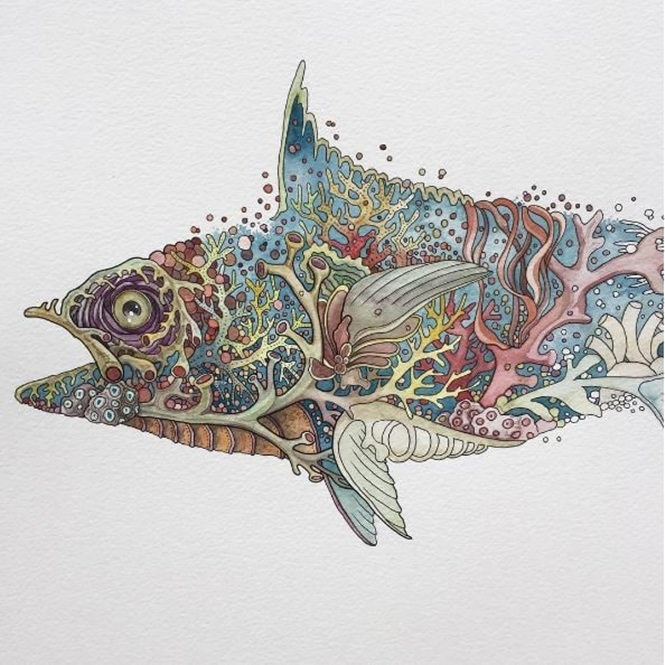 Artista usa natureza como inspiração para criar imagens impressionantes