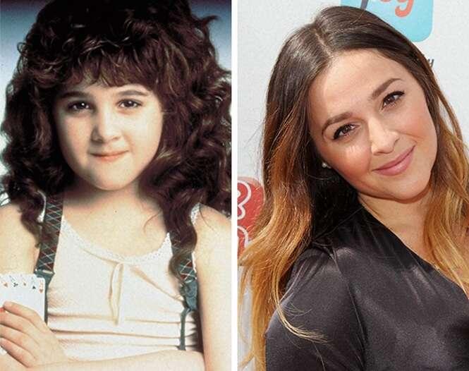 Fotos mostrando como ficaram crianças famosas depois que cresceram
