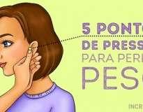 5 pontos de pressão que vão te ajudar a emagrecer