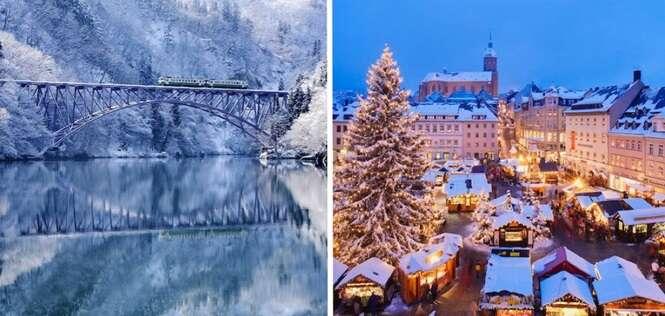 Lugares que você precisa conhecer no inverno