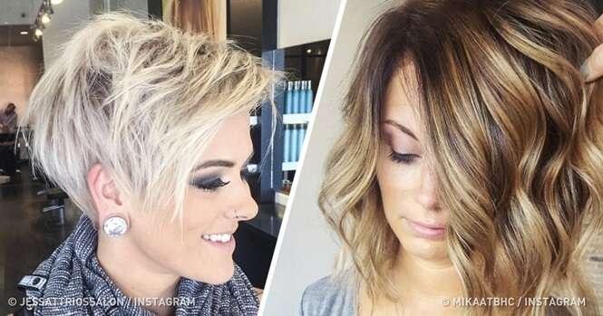 Penteados que dão um volume notável aos cabelos finos