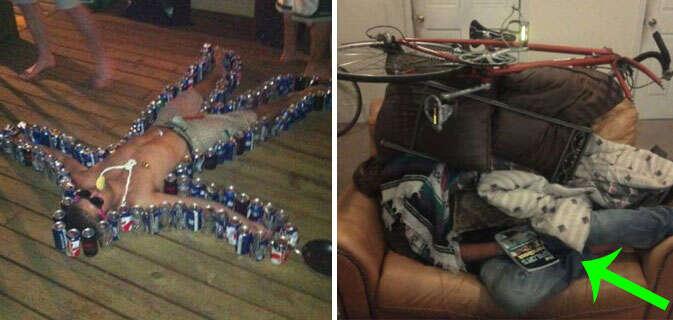Imagens provando que amigos zoeiros e bebida alcoólica não combinam