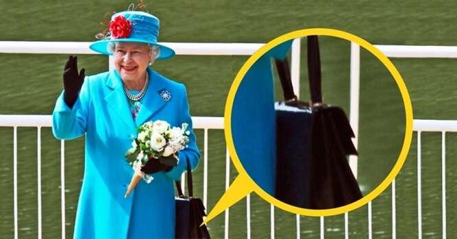 Você sabe por que a rainha da Inglaterra sempre usa bolsa?