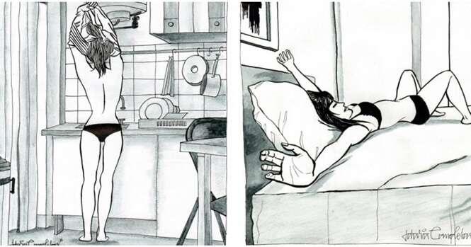 Ilustradora mexicana mostra como viver solitariamente pode ser fantástico