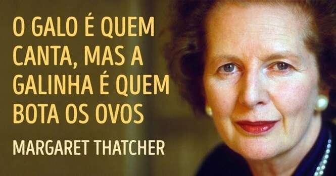 """Frases sensacionais de Margaret Thatcher, a """"dama de ferro"""""""