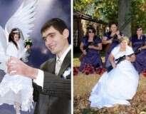 12 imagens mostrando como não fazer fotos para o álbum de casamento