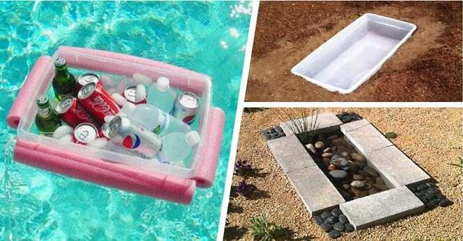 Ideias genais para reutilizar recipientes plásticos