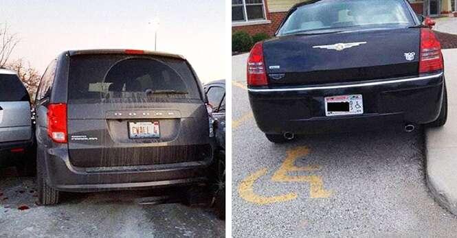 Motoristas que estacionaram terrivelmente mal