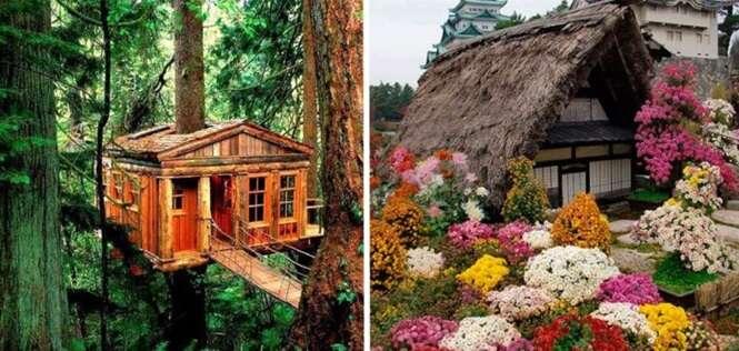 Casas sensacionais em perfeita harmonia com o que as rodeiam
