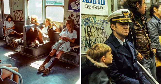 """Fotos raras do metrô de Nova Iorque nos anos 70 e 80, conhecido como """"inferno sobre rodas"""""""