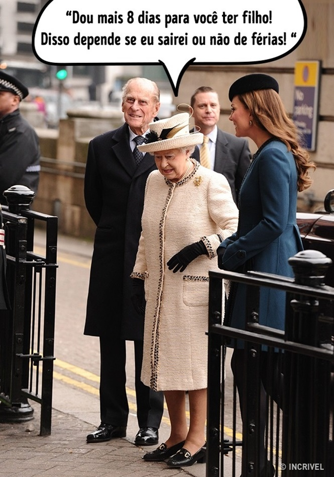 Coisas provando que o senso de humor da família real é ótimo