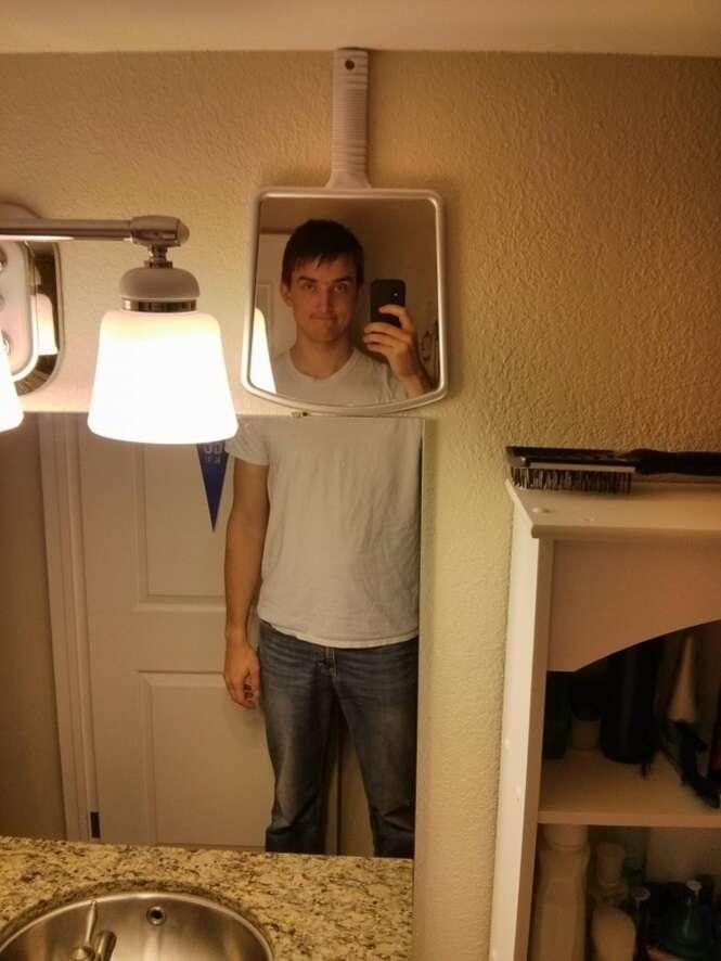 Imagens provando que ser uma pessoa alta não é lá algo tão bom assim
