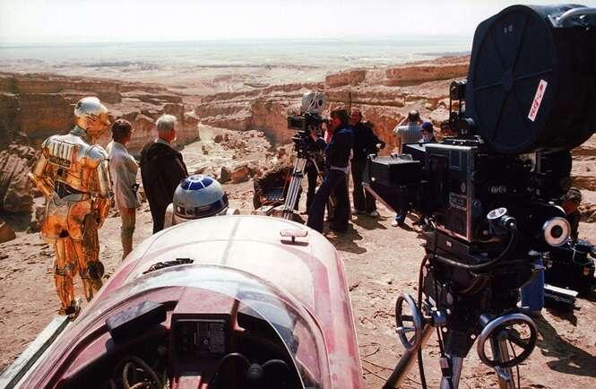 """Fotos extraordinárias do primeiro """"Star Wars"""""""