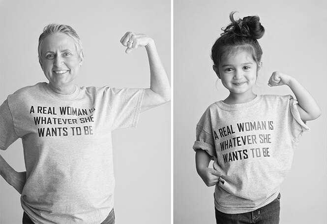 Menina de 3 anos faz fotos vestida como mulheres fortes e resultado é simplesmente adorável