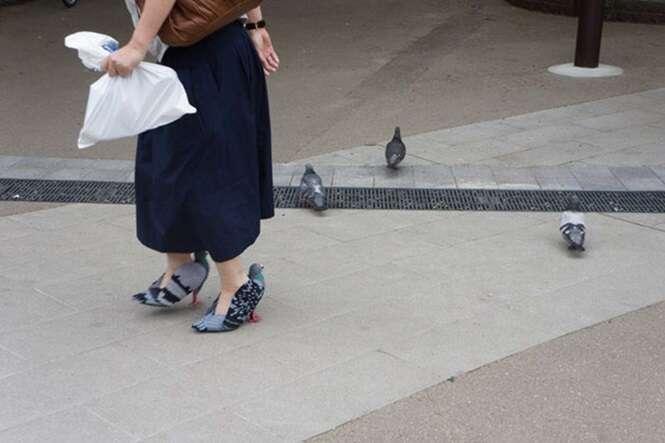 As pessoas estão enlouquecendo com os calçados desta mulher