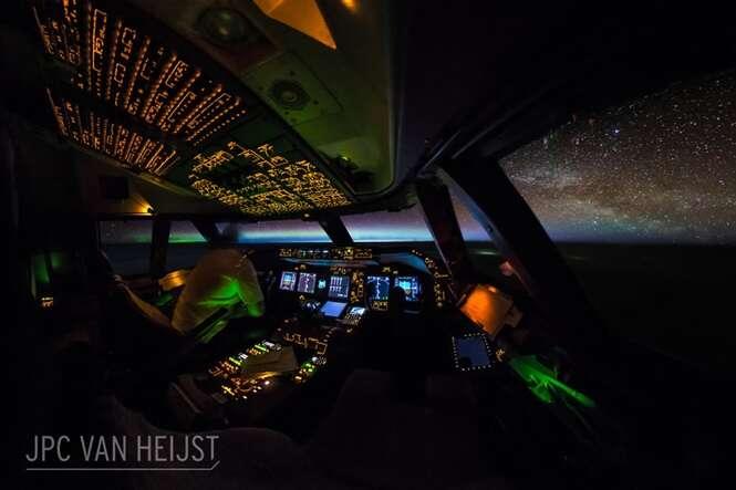 """Piloto faz fotos incríveis de seu cockpit e prova que tem o melhor """"escritório"""" do mundo"""