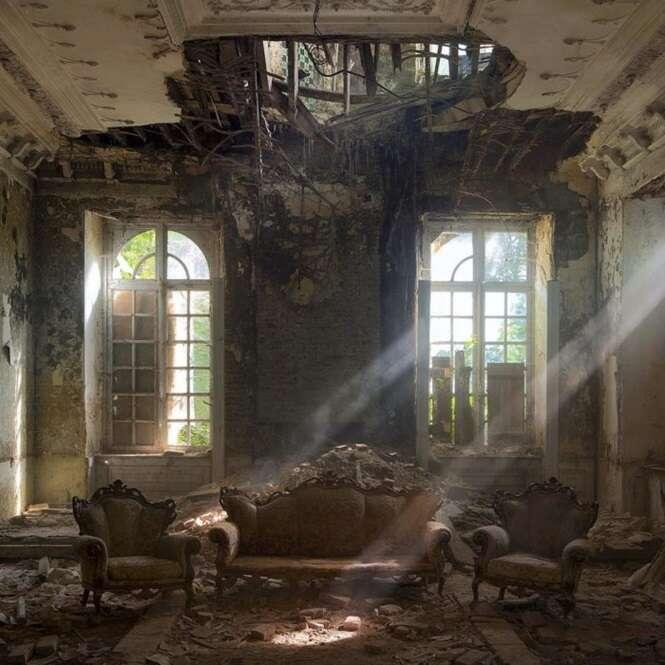 Incríveis lugares abandonados que vão tirar o seu fôlego