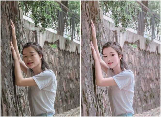 Fotos antes e depois do Photoshop provando que os asiáticos são mestres em edição