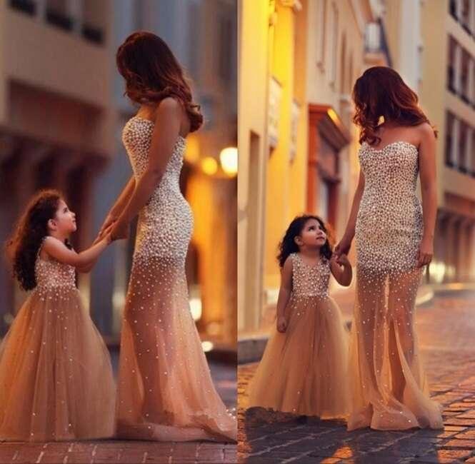 Belas fotos de mamães e suas filhas