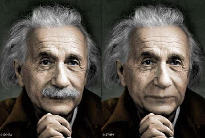 Assim seriam 10 rostos bem conhecidos de todos nós sem seus inseparáveis bigodes