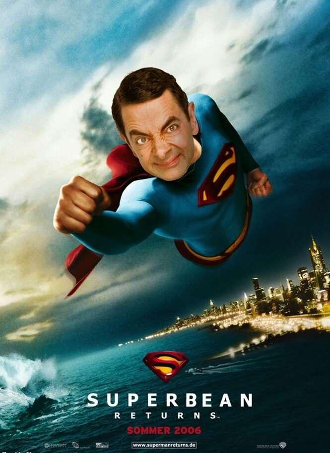 Montagens hilárias feitas com Mr. Bean