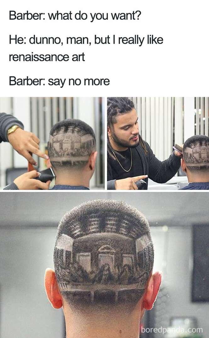 Cortes de cabelo simplesmente terríveis