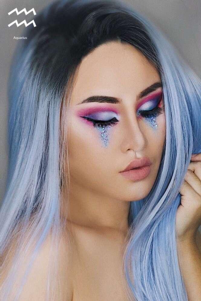 Artista cria maquiagens inspiradas nos 12 signos do zodíaco